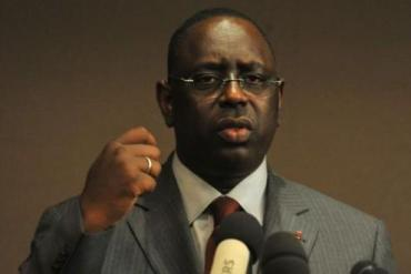 "Senegal's Macky Sall sworn in as president; says ""several emergencies"" ahead"