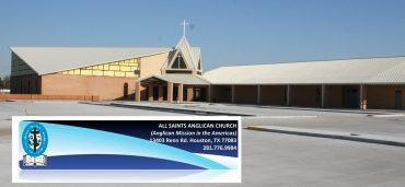 Advertisement: All Saints Anglican Houston's Letter to our community (2)