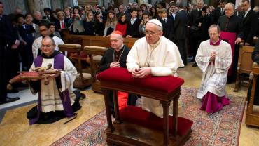 Pope Francis begins inauguration mass in St Peter's Square today