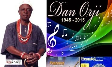 USAfricaTV: 2 Songs by Dan Orji of Peacocks. icon. singer. writer. superstar.