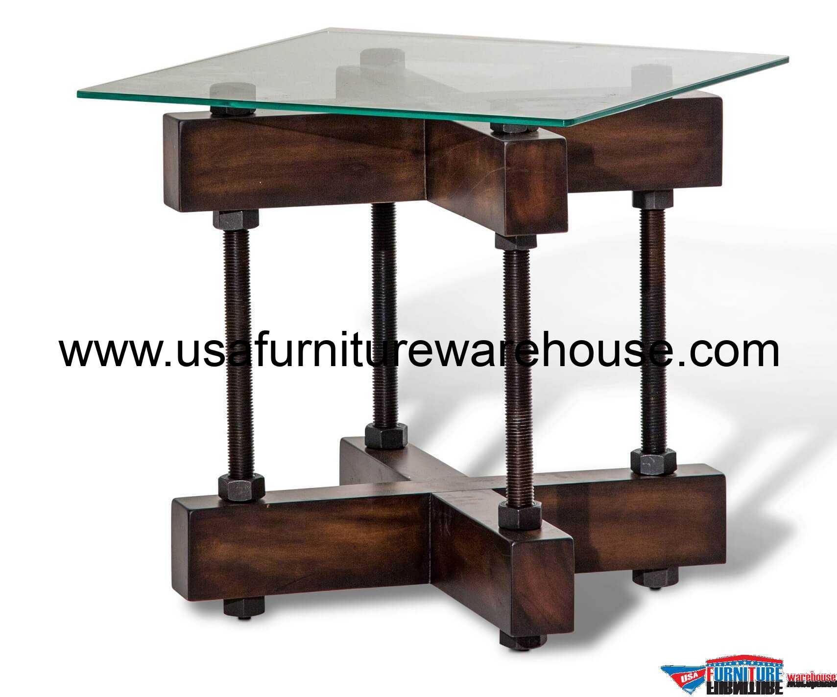 Glass End Table Top Aico Killington End Table Glass Top