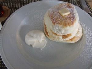 ふわっふわのパンケーキ