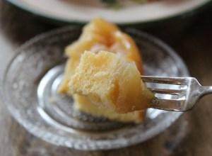 紅玉りんごケーキ一口