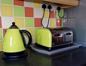 キッチンのトースター