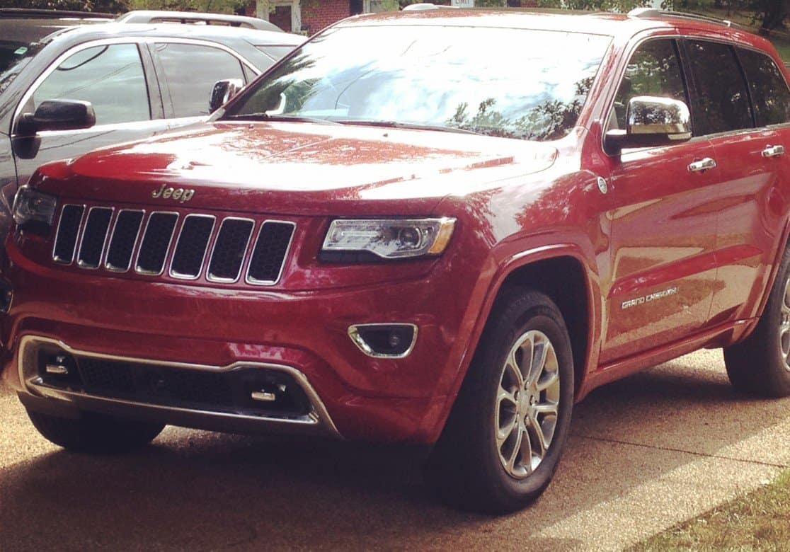 Lit Style Americain Drive In Style American Car Jeep Grand Cherokee Overland