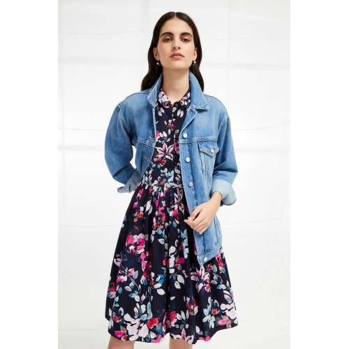 Medium Crop Of Fit And Flare Dress