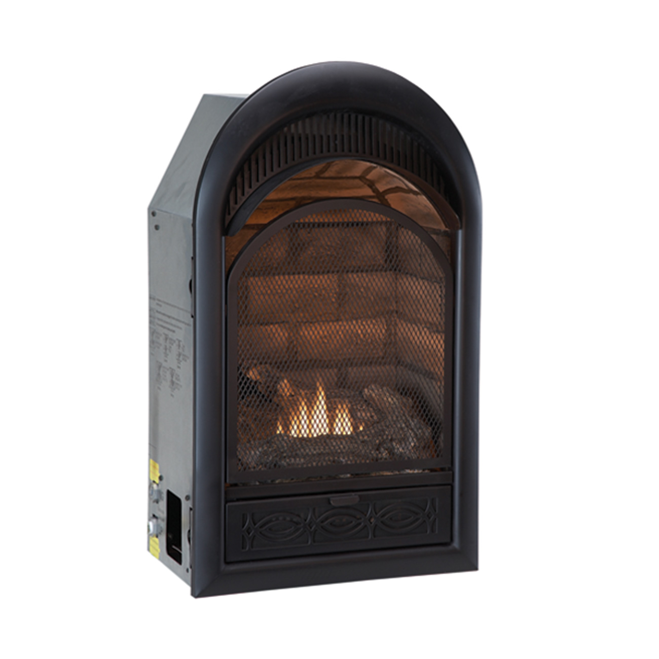 Btu Gas Fireplace Ventless Dual Fuel Fireplace Insert 10 000 Btu