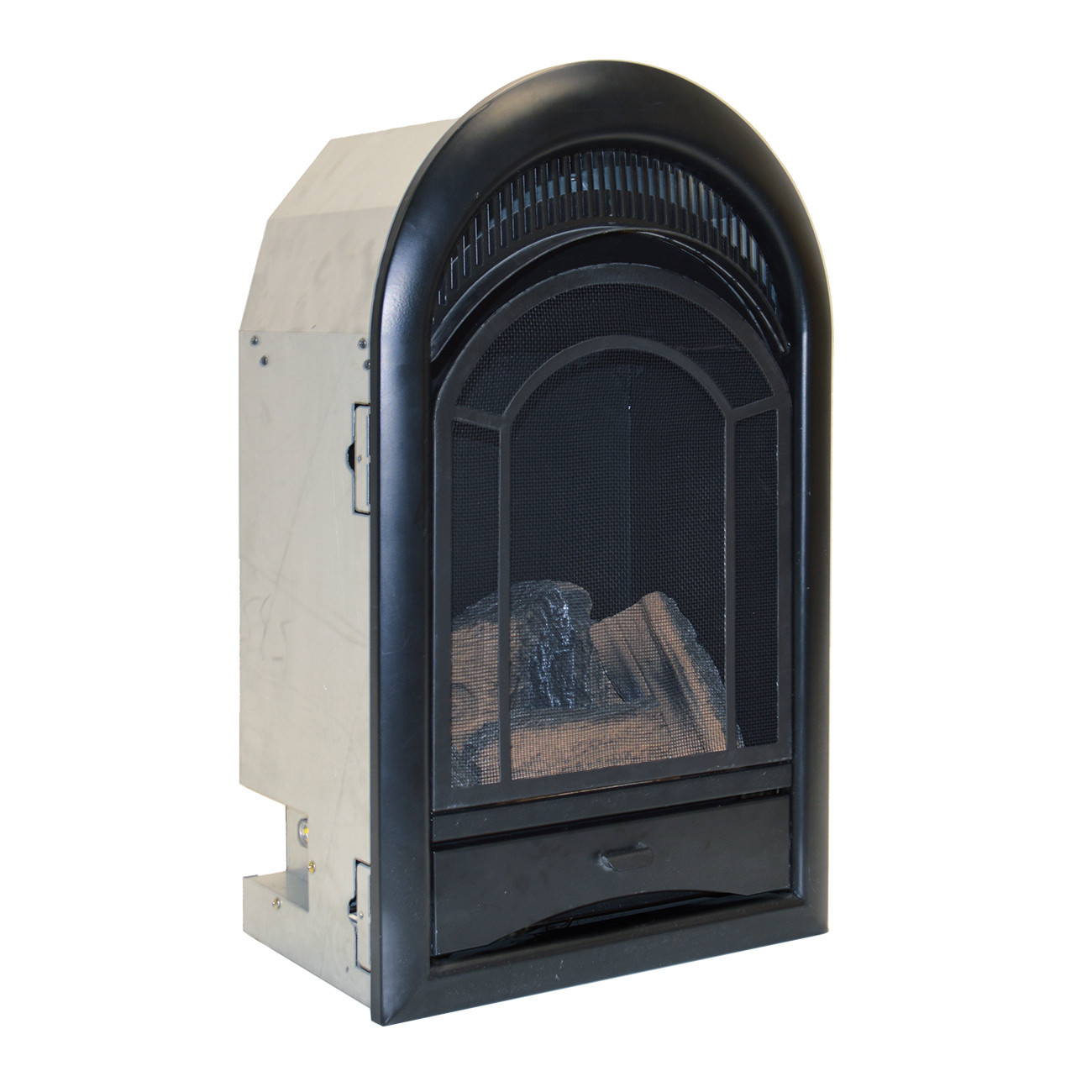 Free Fireplace Insert Ventless Fireplace Insert Thermostat Control Arched Door 10 000 Btu Model Pcs100t