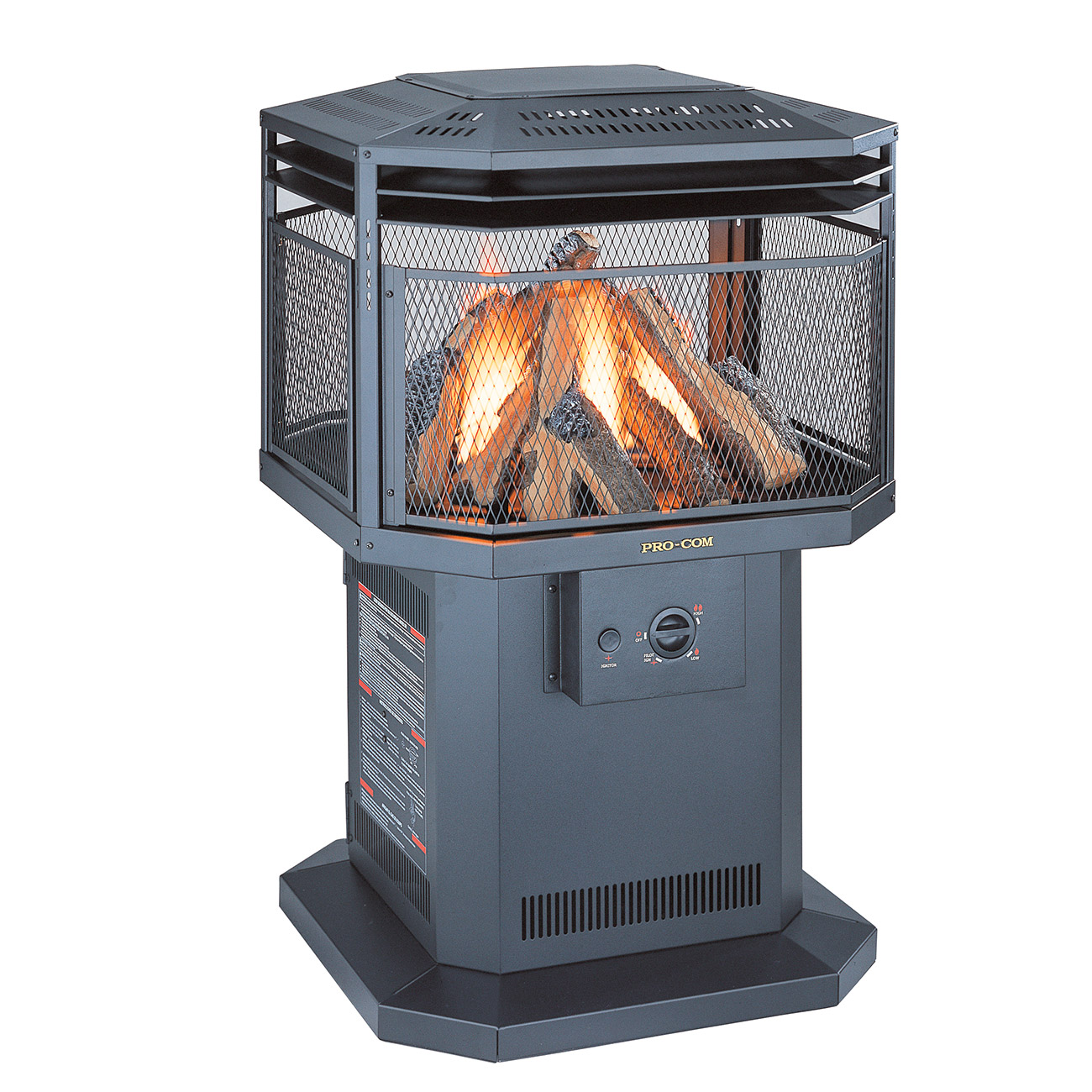 Outdoor Gas Fireplaces Outdoor Gas Fireplace Model Al500hyla Procom Heating
