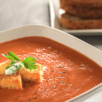French Cruise Recipe: Creamy Tomato Soup with Truffle Oil