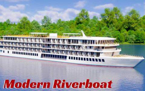 Modern Riverboat