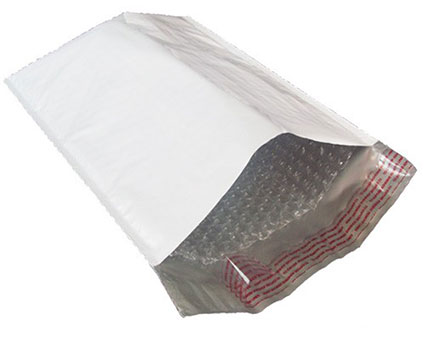White Poly Bubble Mailers (free shipping) US Box Corp
