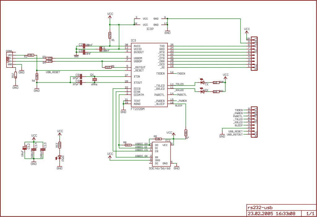 Usb To Rs232 Wiring Diagram USB Wiring Diagram
