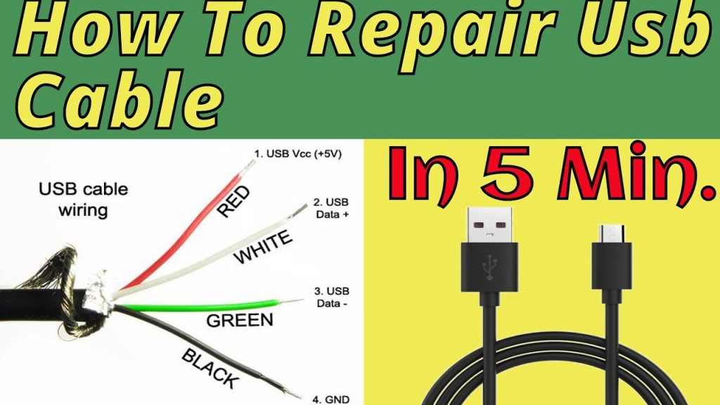 Lightning Cable Red White Green Yellow Black Usb Wiring Diagram
