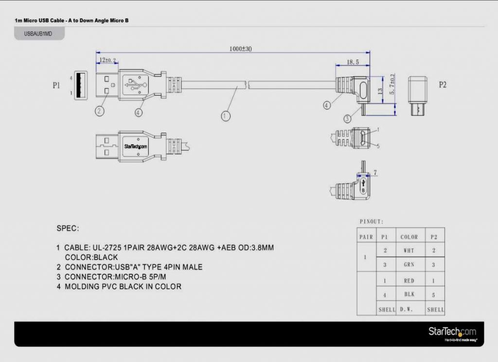 Rj45 To Usb Cable Wiring Diagram USB Wiring Diagram