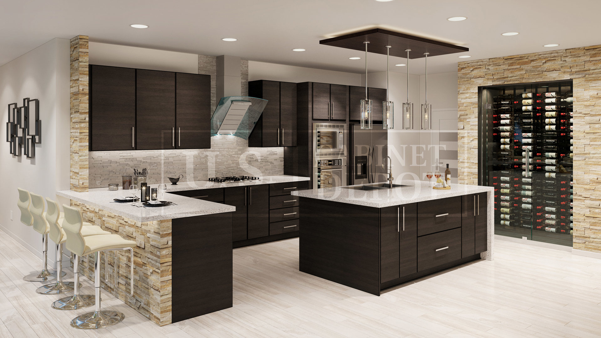 Modern Kitchen Designs Buy Online Alpine Series Frameless Cabinets Us Cabinet Depot