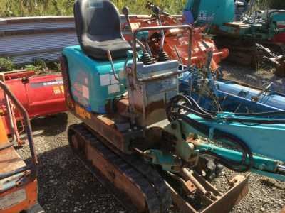 KOBELCO SK007 00481 used MINI BACKHOE |KHS japan