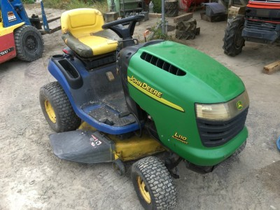 JOHN DEERE L110 used Lawn mower tractor|KHS japan