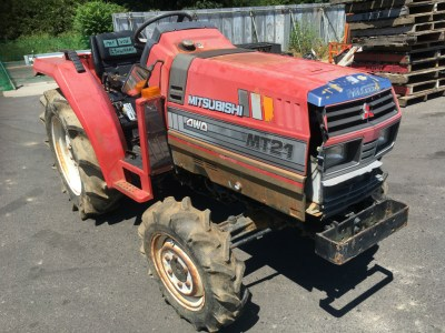 MITSUBISHI MT21D 70532 used used compact tractor |KHS japan