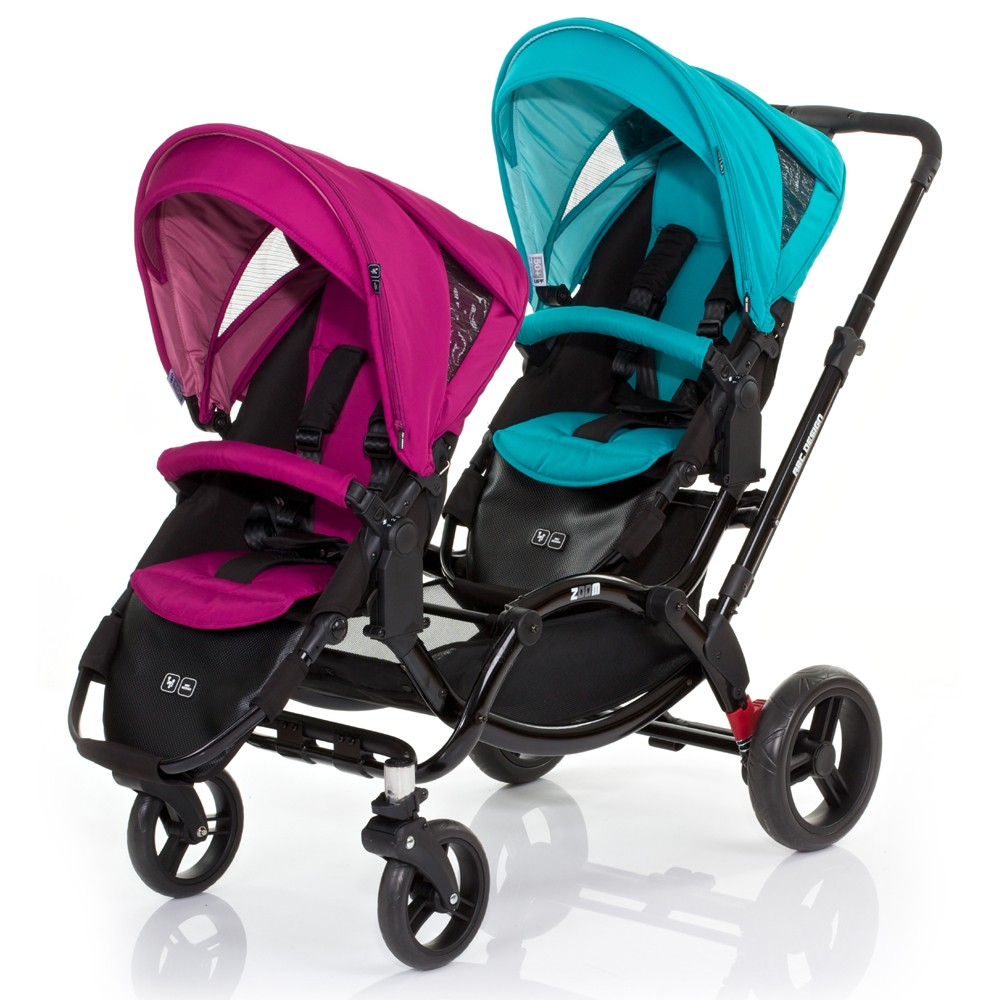 Abc Design Zoom Set Award Winning Double Pushchair Obaby Abc Design Zoom