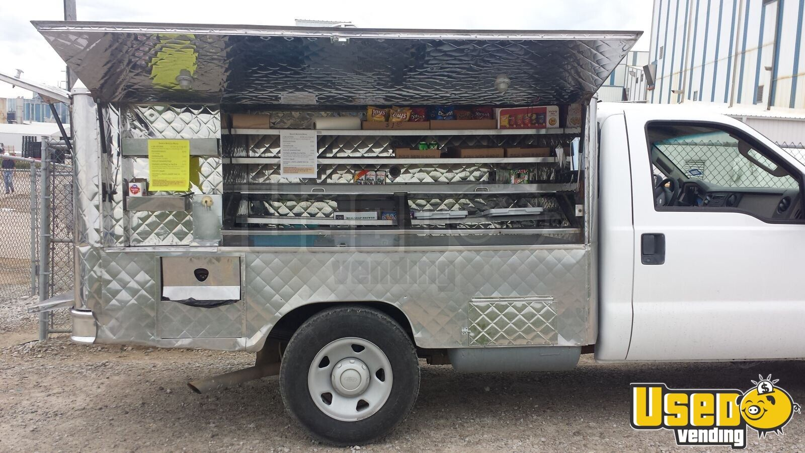 Alchemy Coffee Food Truck Ford Lunch Canteen Truck Used Food Truck For Sale In Iowa