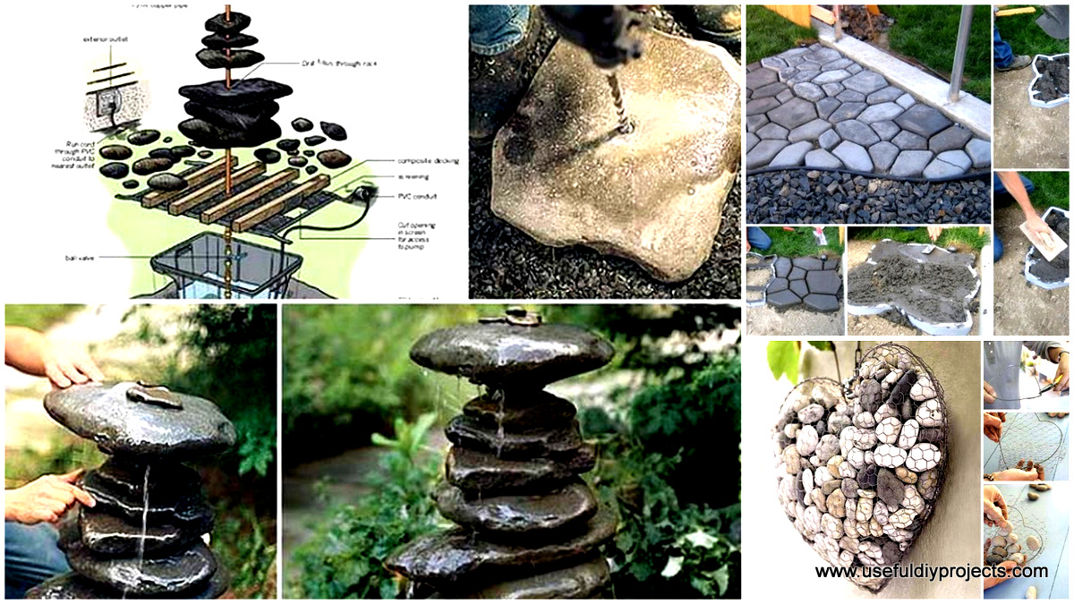 Garden and yard archives useful diy projects for Diy stone projects