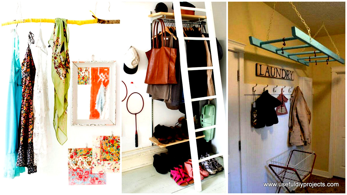 Storage ideas archives useful diy projects - Clothing storage solutions for small spaces model ...
