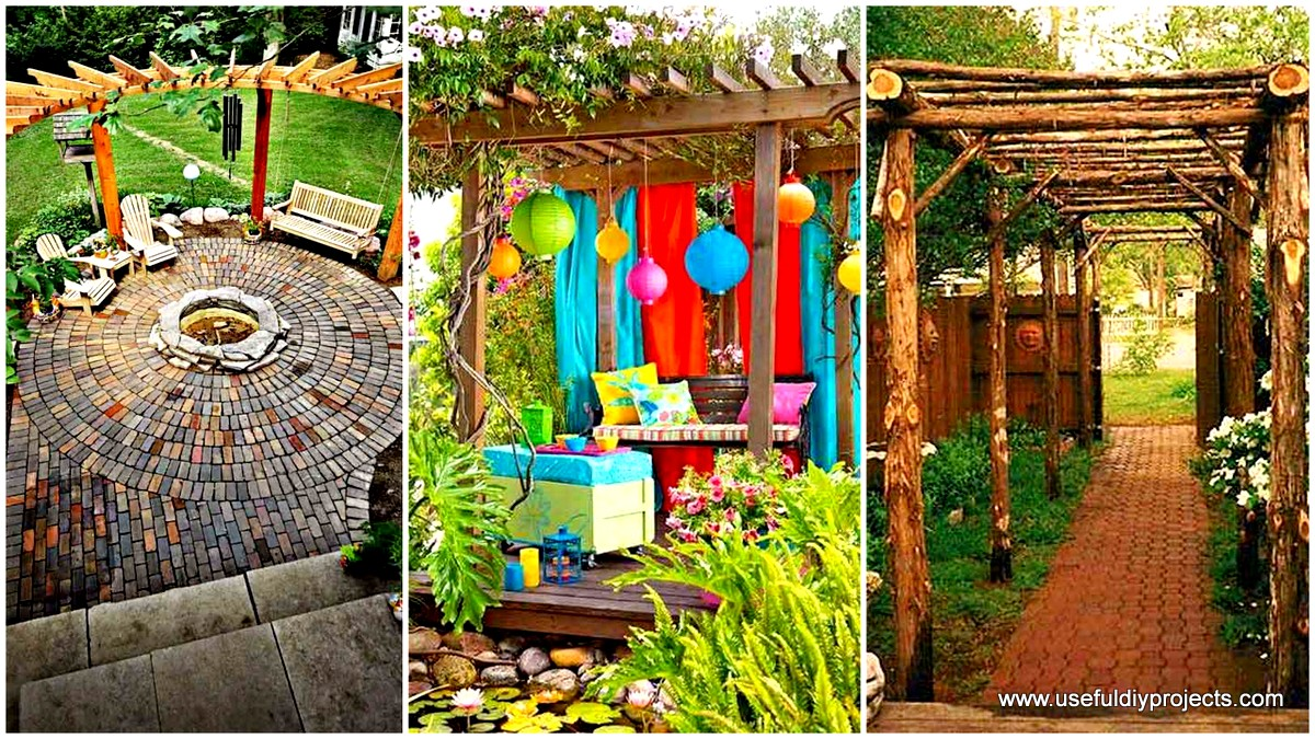 Pergola Designs 25 Beautifully Inspiring Diy Backyard Pergola Designs For Outdoor