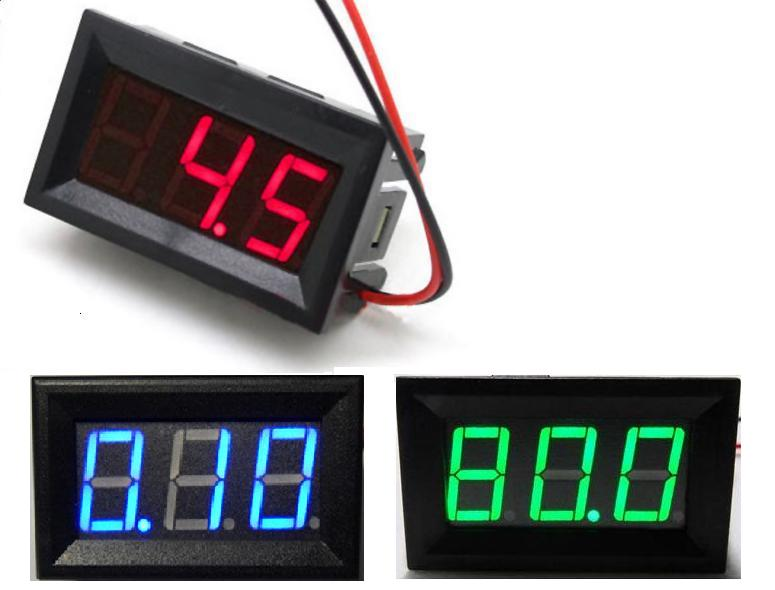 Usefulldata Digital DC Voltmeter 0-100V from china (schematic