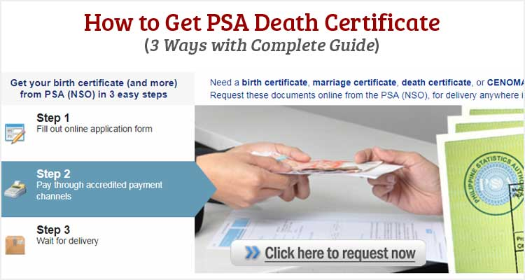 How to Get PSA Death Certificate - Useful Wall