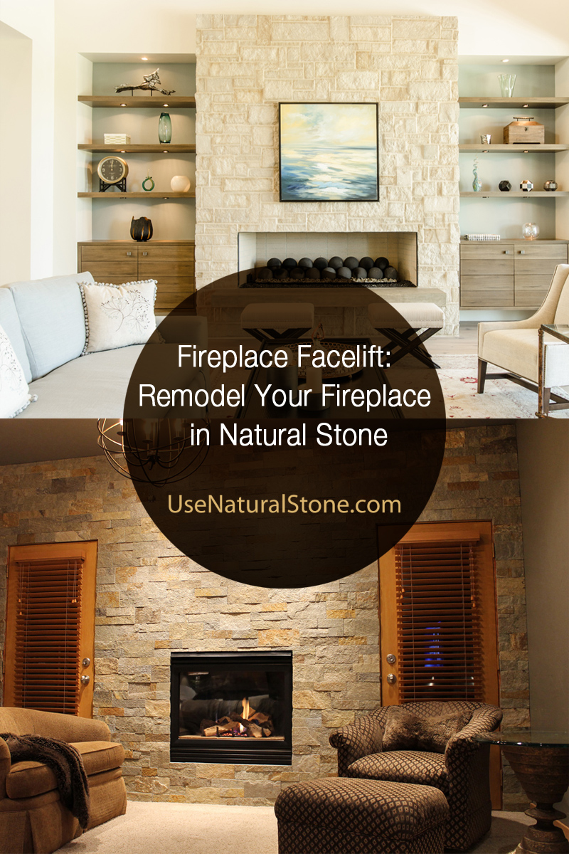 Fireplace Stone Remodel Your Fireplace In Natural Stone Use Natural Stone