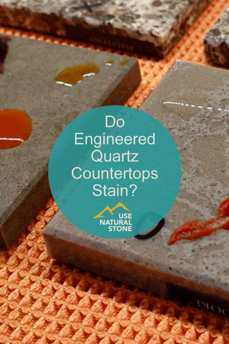 Does Quartz Stain Do Engineered Quartz Countertops Stain? - Use Natural Stone