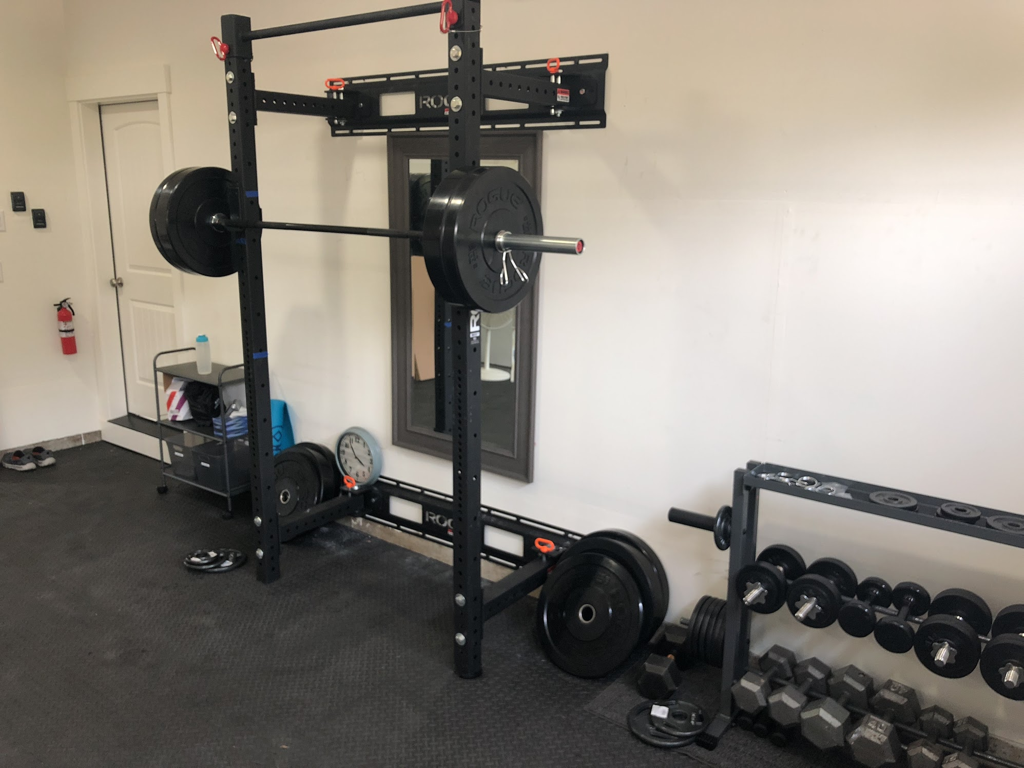 Garage Gym Reviews Titan Building My Home Garage Gym For Under 3 000 Jamon Holmgren