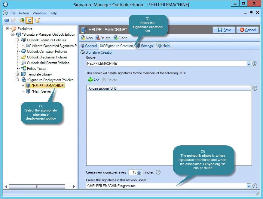 Exclaimer Signature Manager Outlook Edition - Deploying multiple