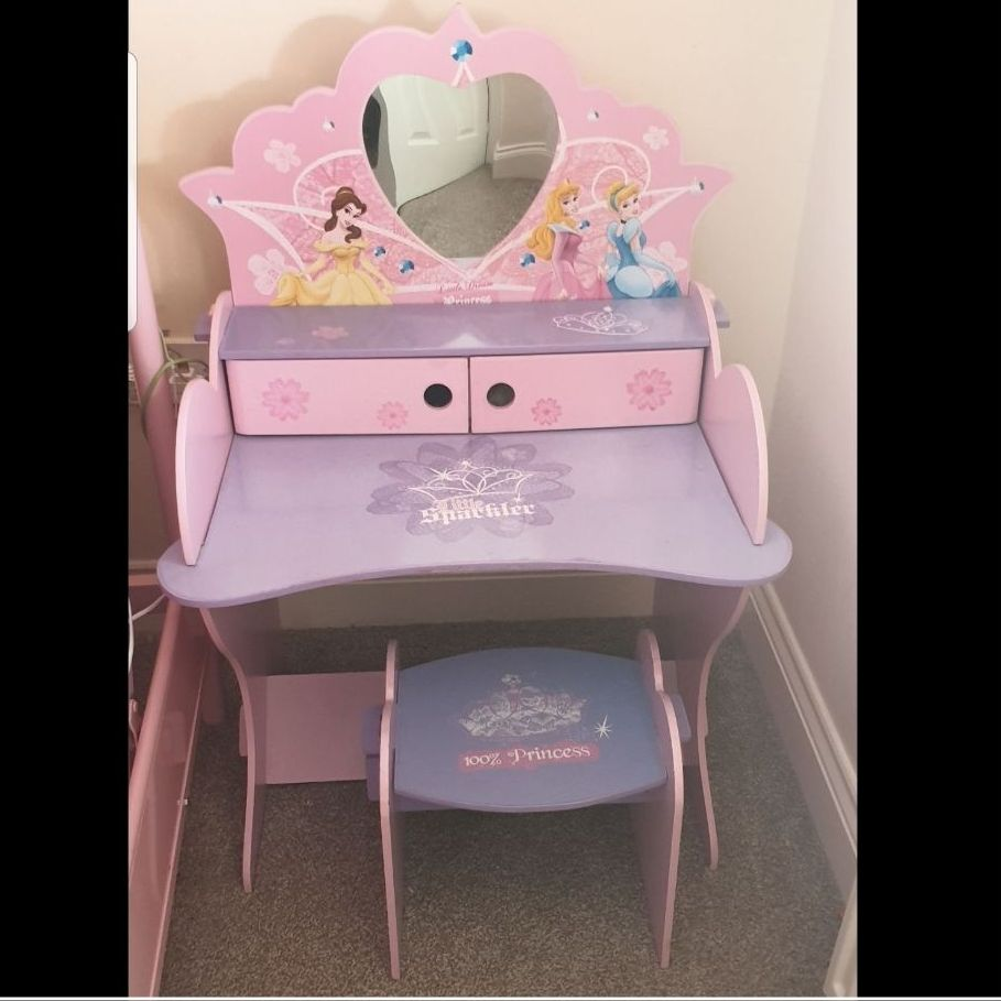 Girls Dressing Table Girls Princess Dressing Table