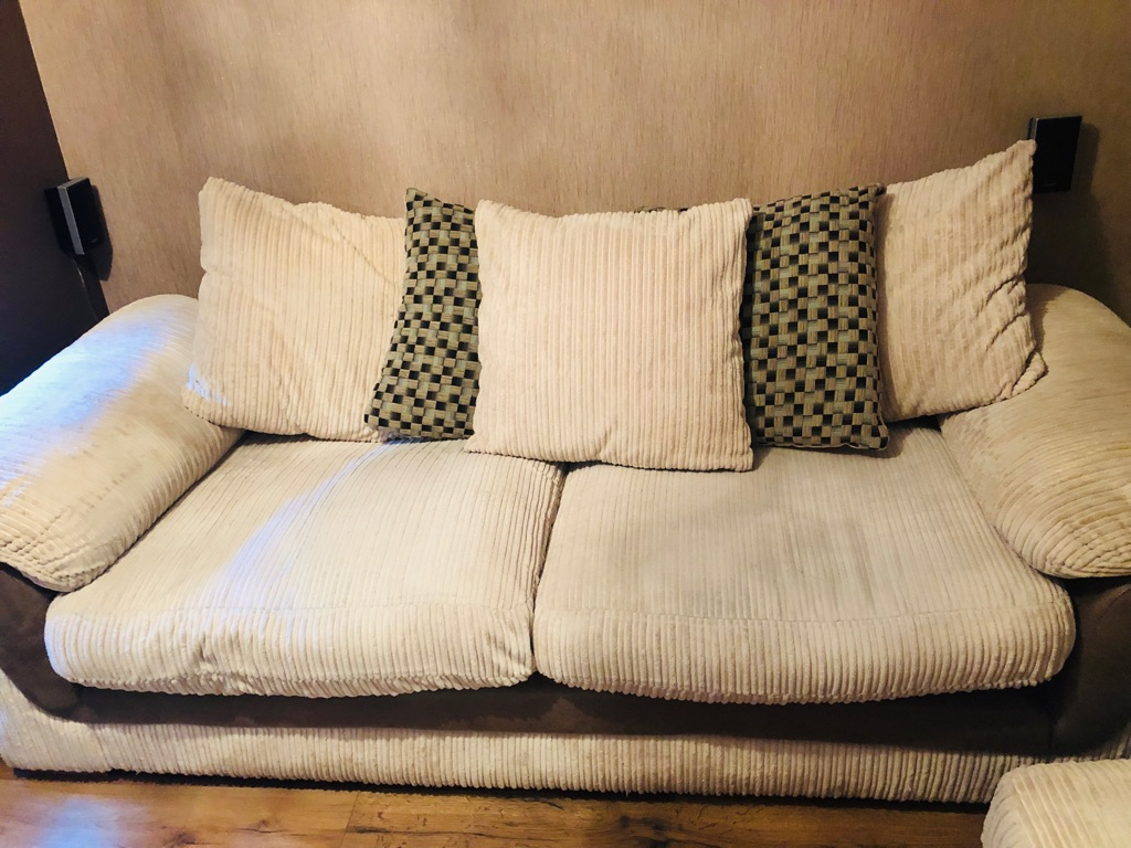 Corduroy 3 Seater Sofa Large 3 Seater Sofa Village