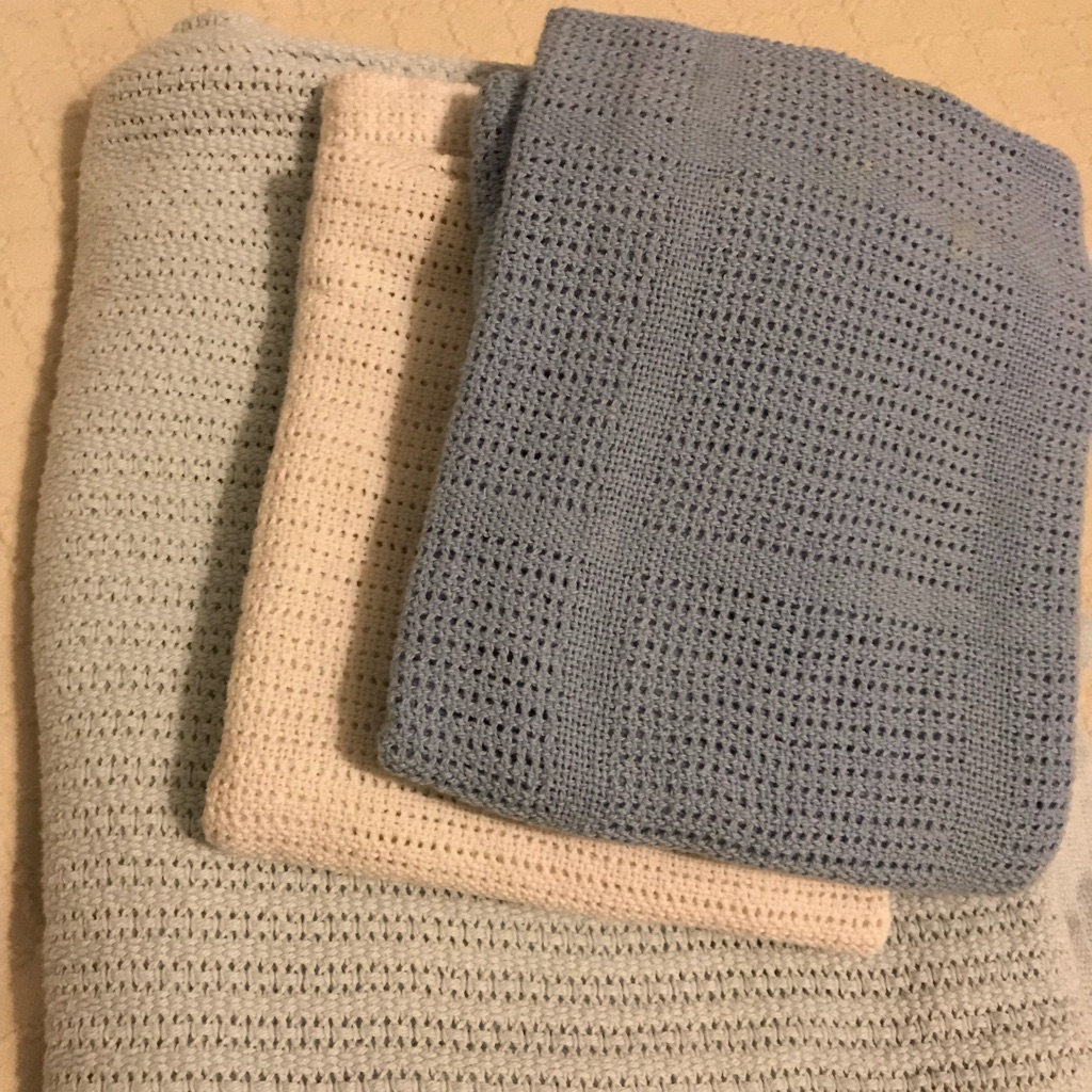Cellular Cot Blankets Moses Basket Cot Bed Cellular Blankets