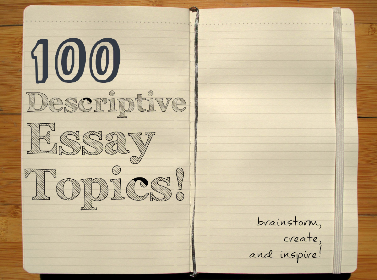 descriptive essays ideas