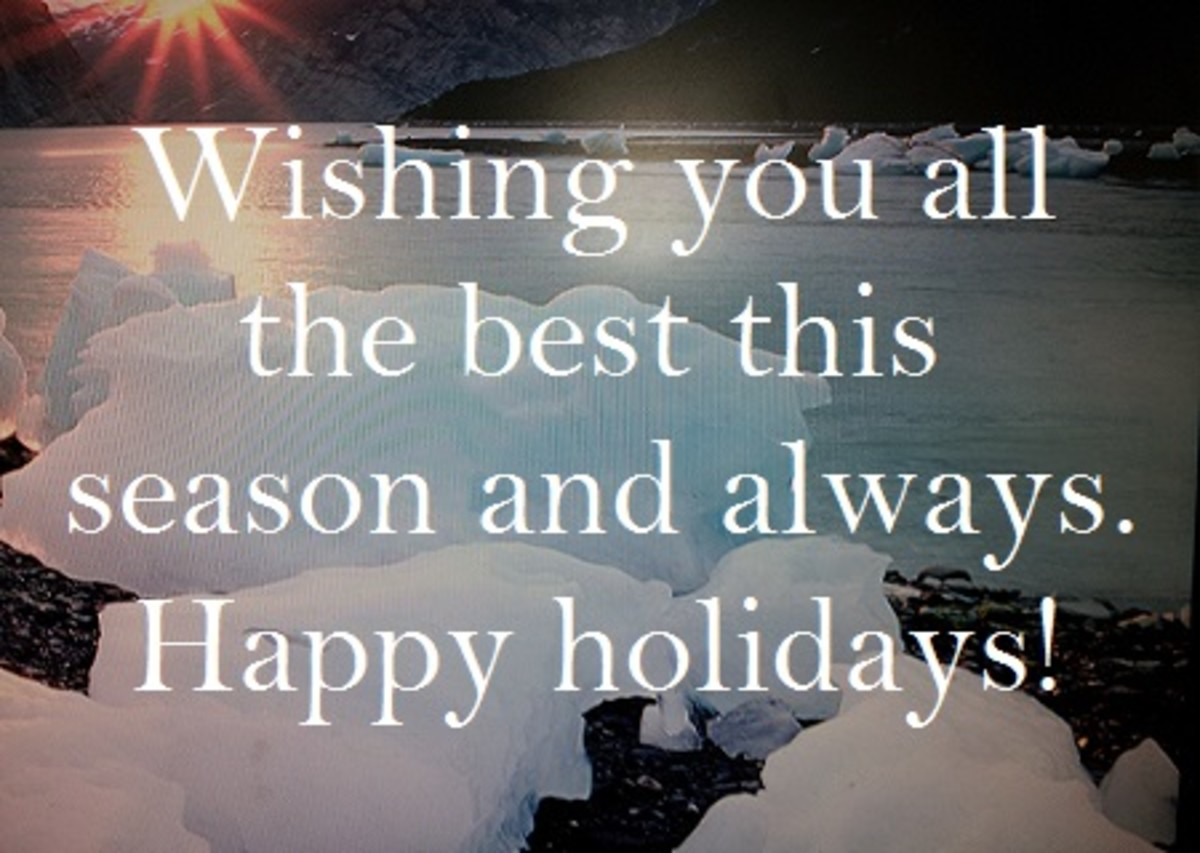 Season Greetings Wishes for Business Happy Holiday Messages for