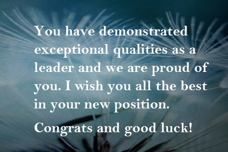 Congratulations Message for Promotion in Job HubPages