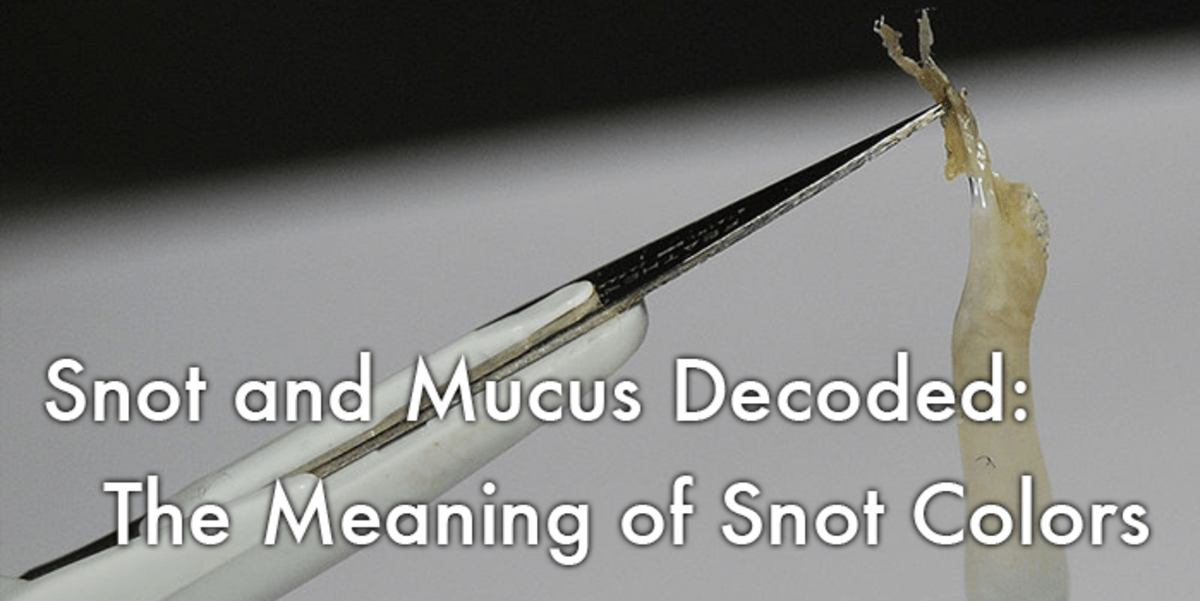 Snot and Mucus Decoded The Meaning of Snot Colors HealDove