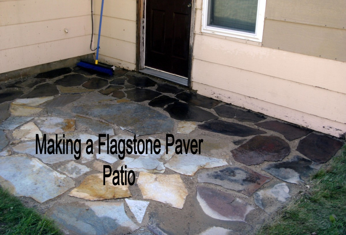 How To Install Or Lay Flagstone Pavers When Building A