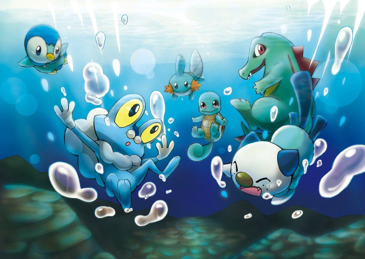 Top 6 Water Starters in Pokemon LevelSkip