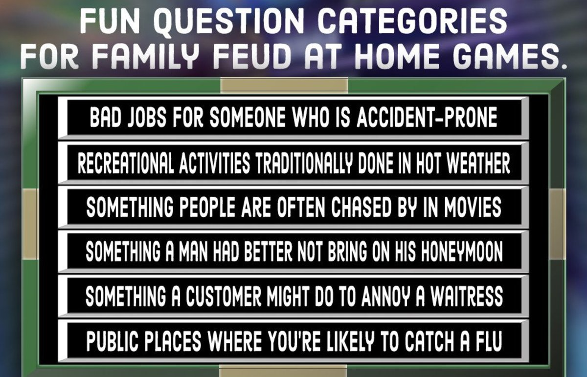 Family Feud Quiz Free Questions (and Answers) HobbyLark