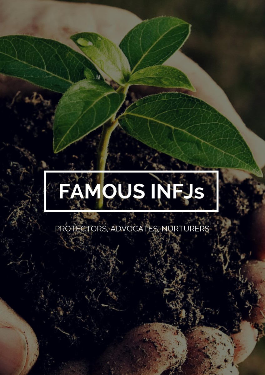 Famous INFJs Celebrities with the INFJ Personality Type Owlcation