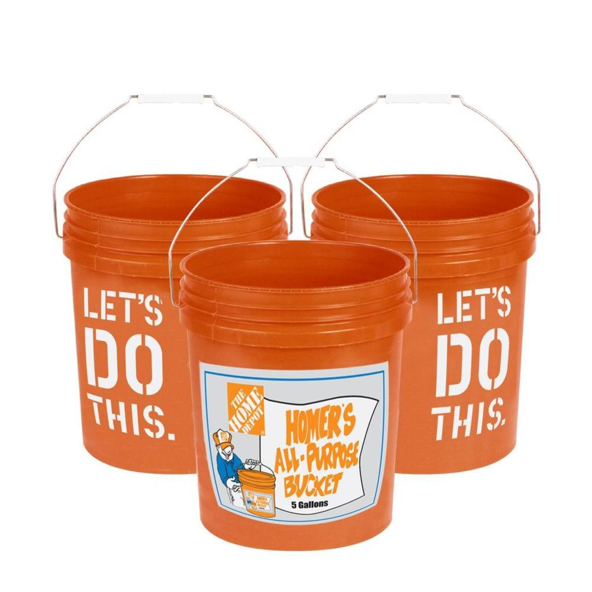 5 Gallon Bucket Home Depot Try Gift Buckets Instead Of Gift Bags For Holidays
