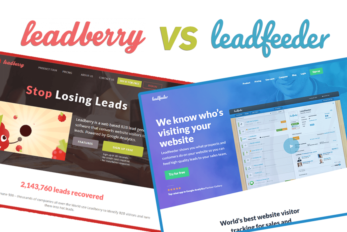 Leadfeeder vs Leadberry The Lead Generation Market Expands