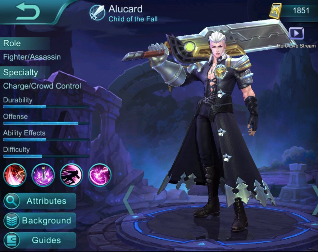 Alucard Mobile Legends Child Of The Fall Wallpaper Mobile Legends Alucard Build Guide Hubpages