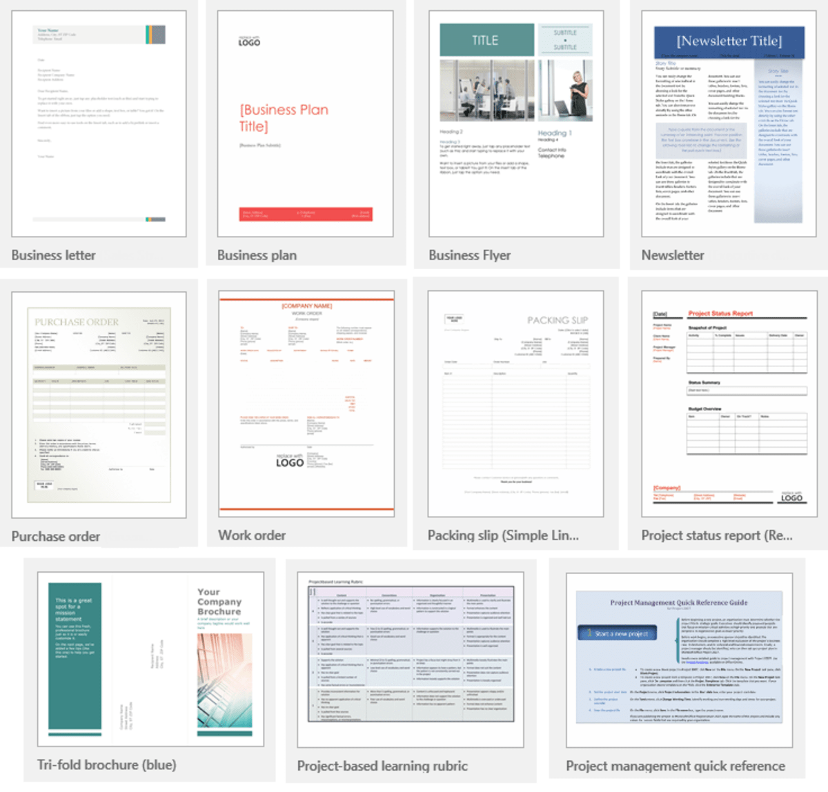 Microsoft Word 2016 Templates Showcase TurboFuture