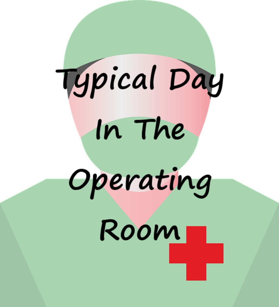 A Typical Day For A Circulating Nurse In The Operating Room LetterPile